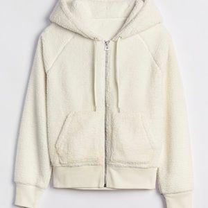 Gap Sherpa full zip hoodie